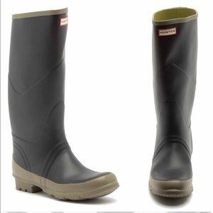 New Hunter Argyll Bullseye rain boots